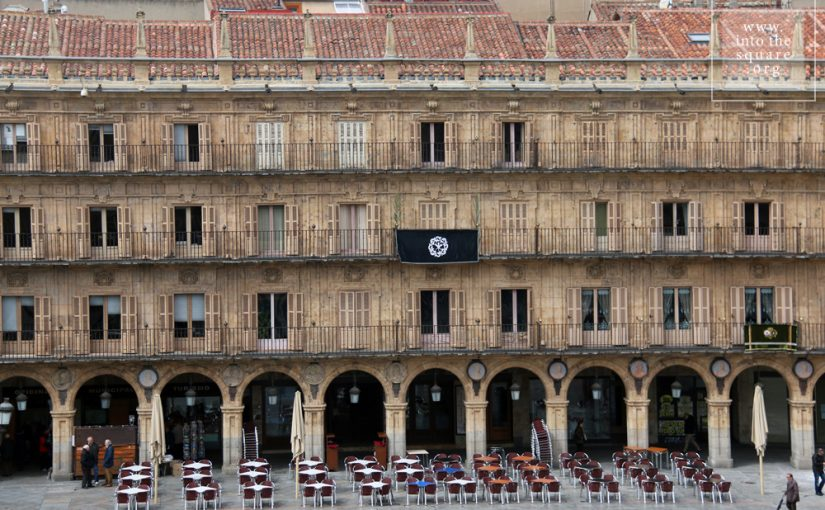 Salamanca, İspaniya, Plaza Mayor